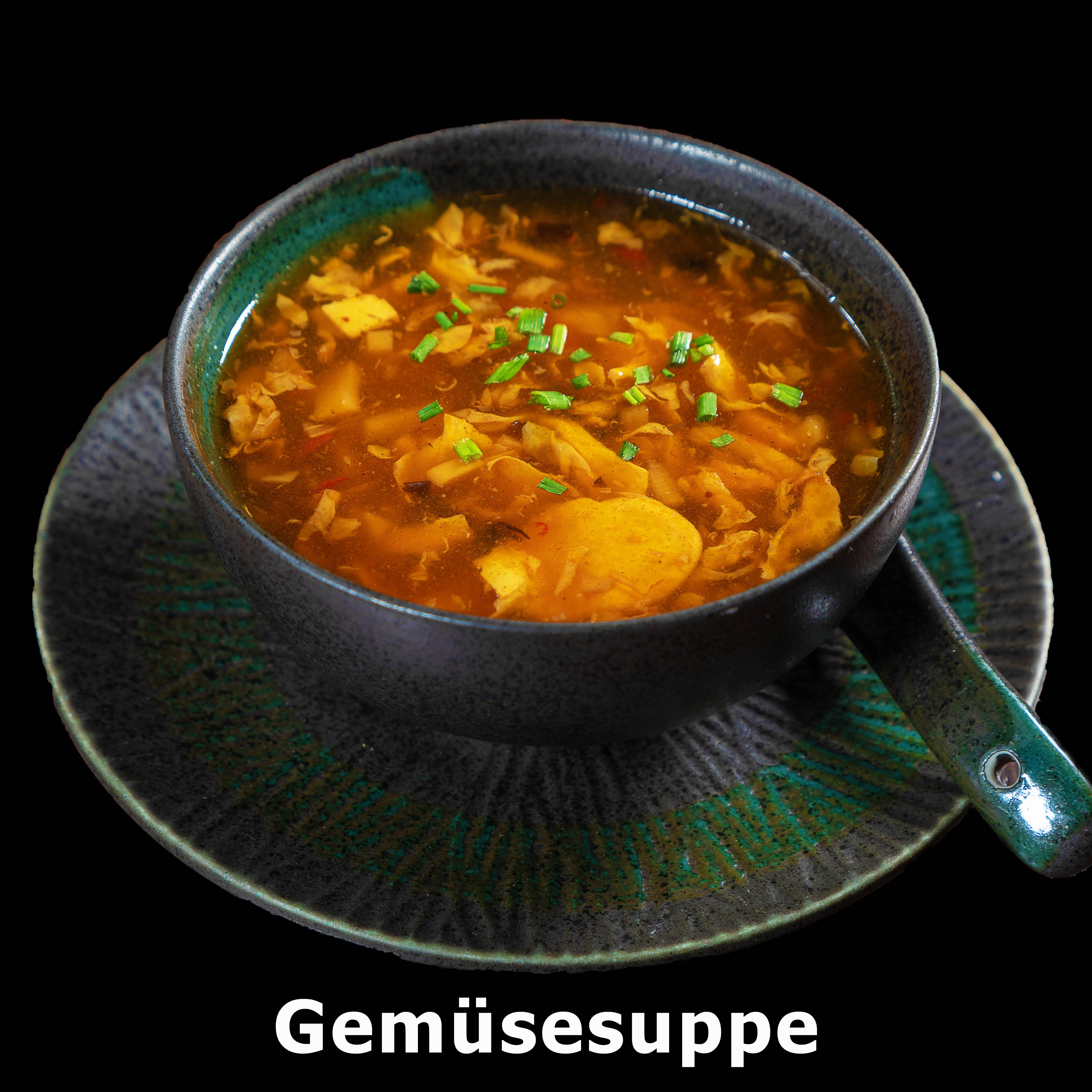 1. Gemüsesuppe