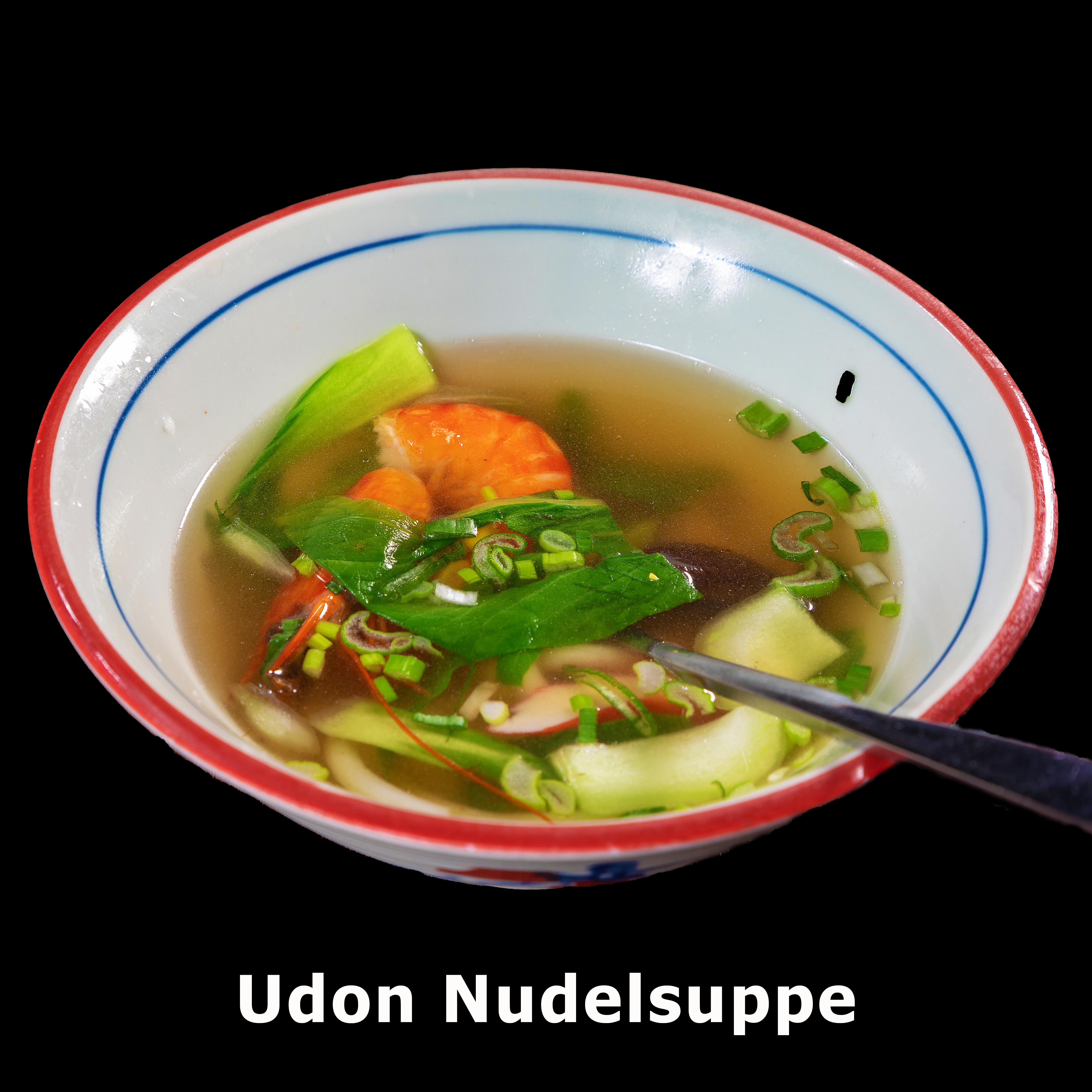 3. Udon Nudelsuppe