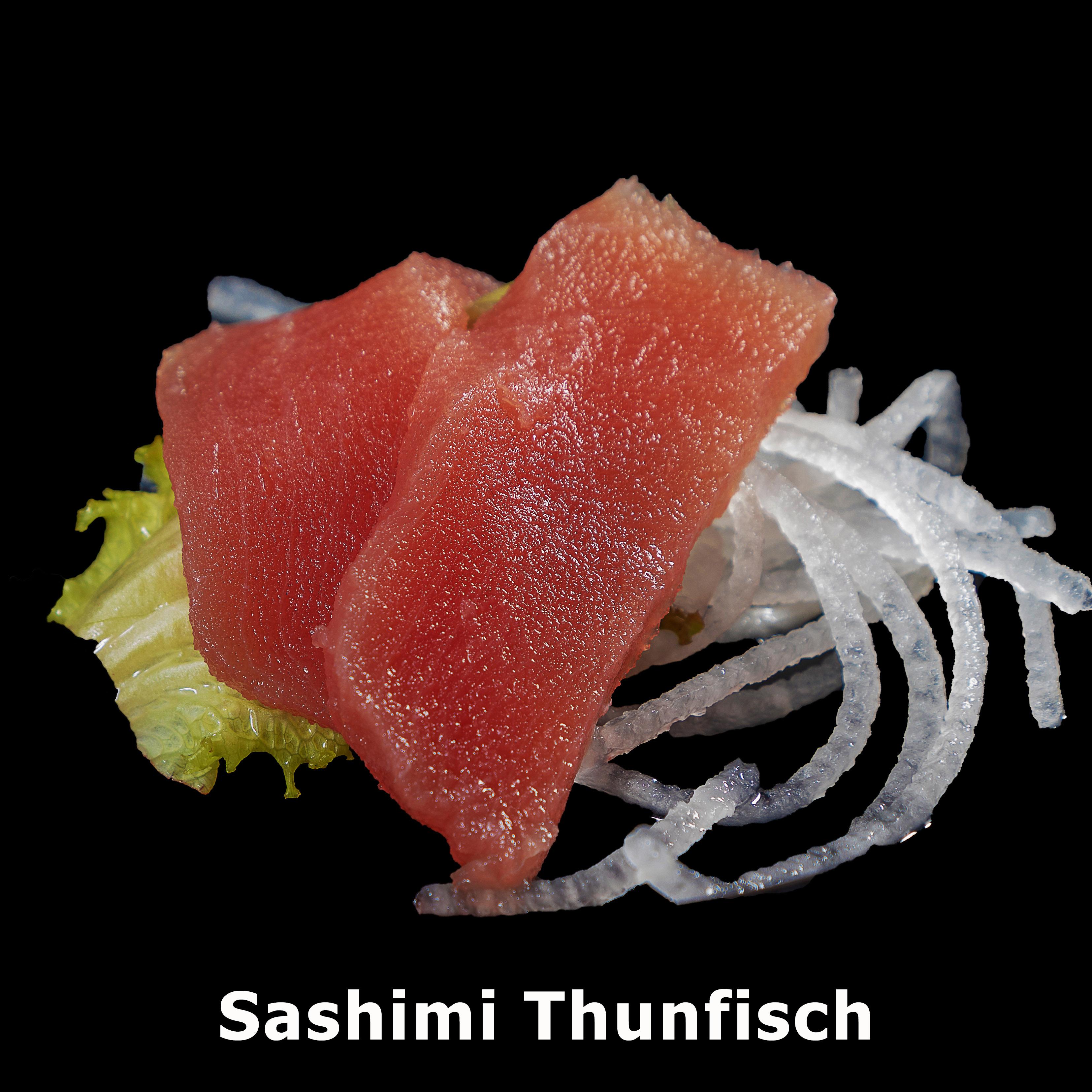70. Sashimi Thunfisch