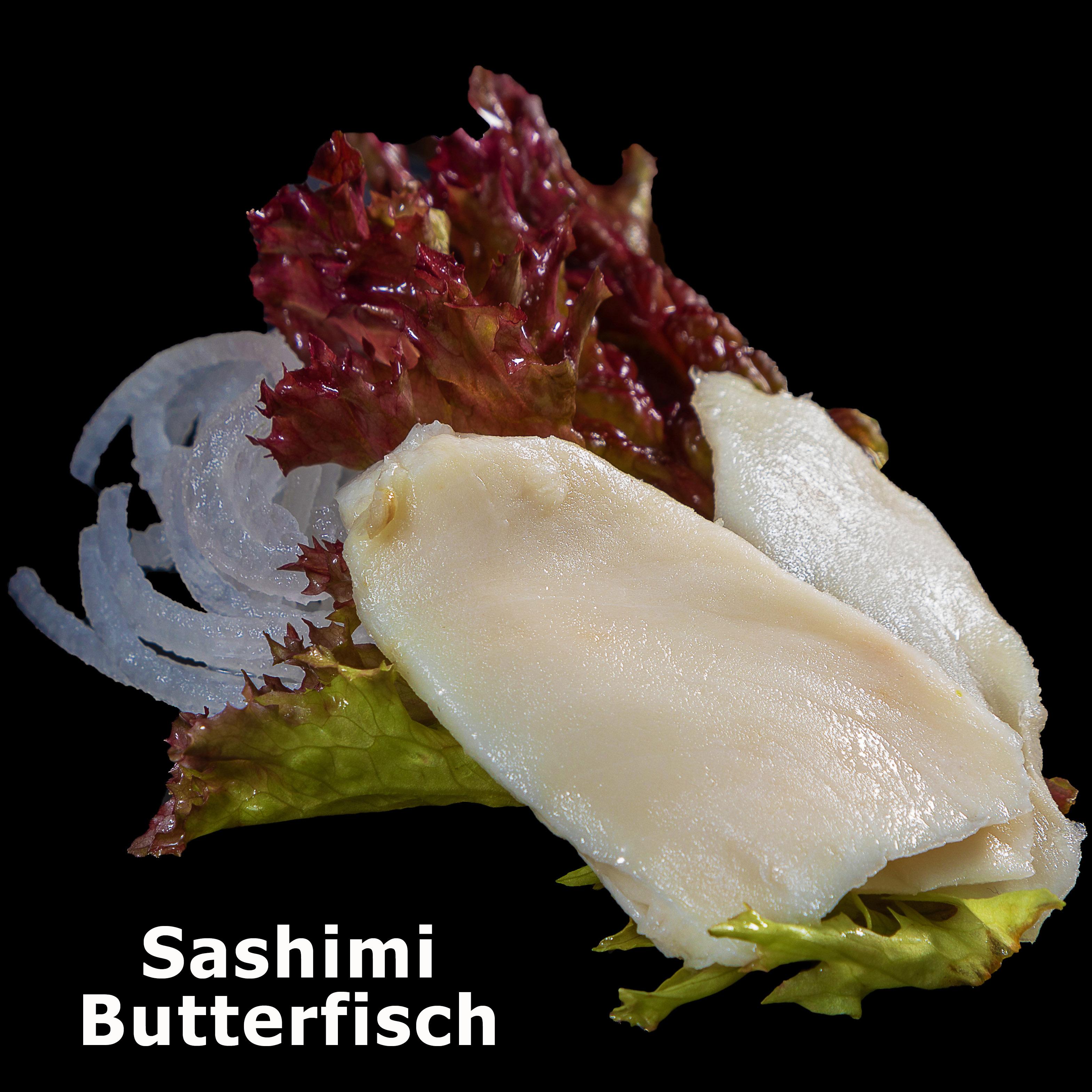 75. Sashimi Butterfisch